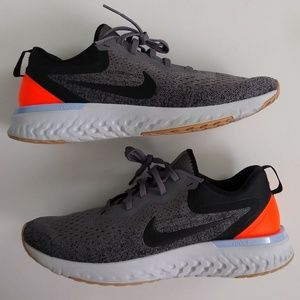 Nike React Odyssey grey running shoes women's 10.5